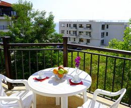 Vacation on the beach in Bulgaria Byala