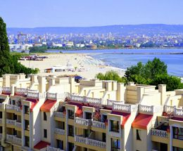 Holiday on the beach in Bulgaria