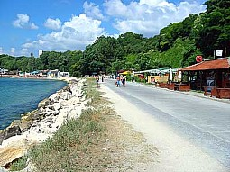 Varna city - beach area
